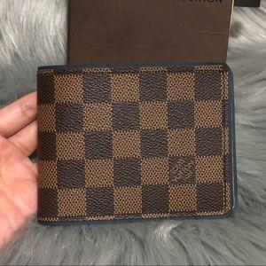 Louis Vuitton Bags - Louis Vuitton men s multiple damier ebene wallet 2fc2dc10c664e